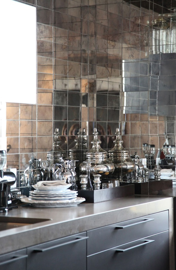 kitchens mirror tiles mimosa lane trend alert mirrored backsplashes for your kitchen