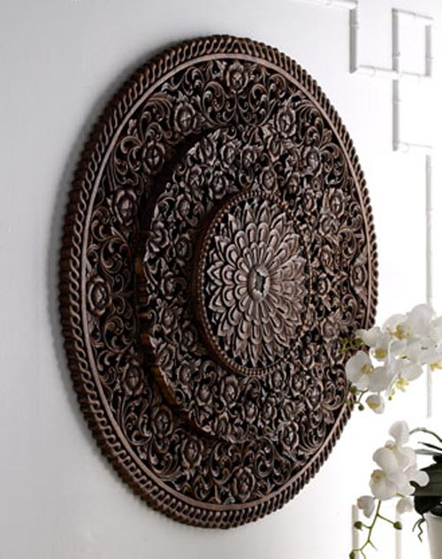 Carved wall decor allthingabout