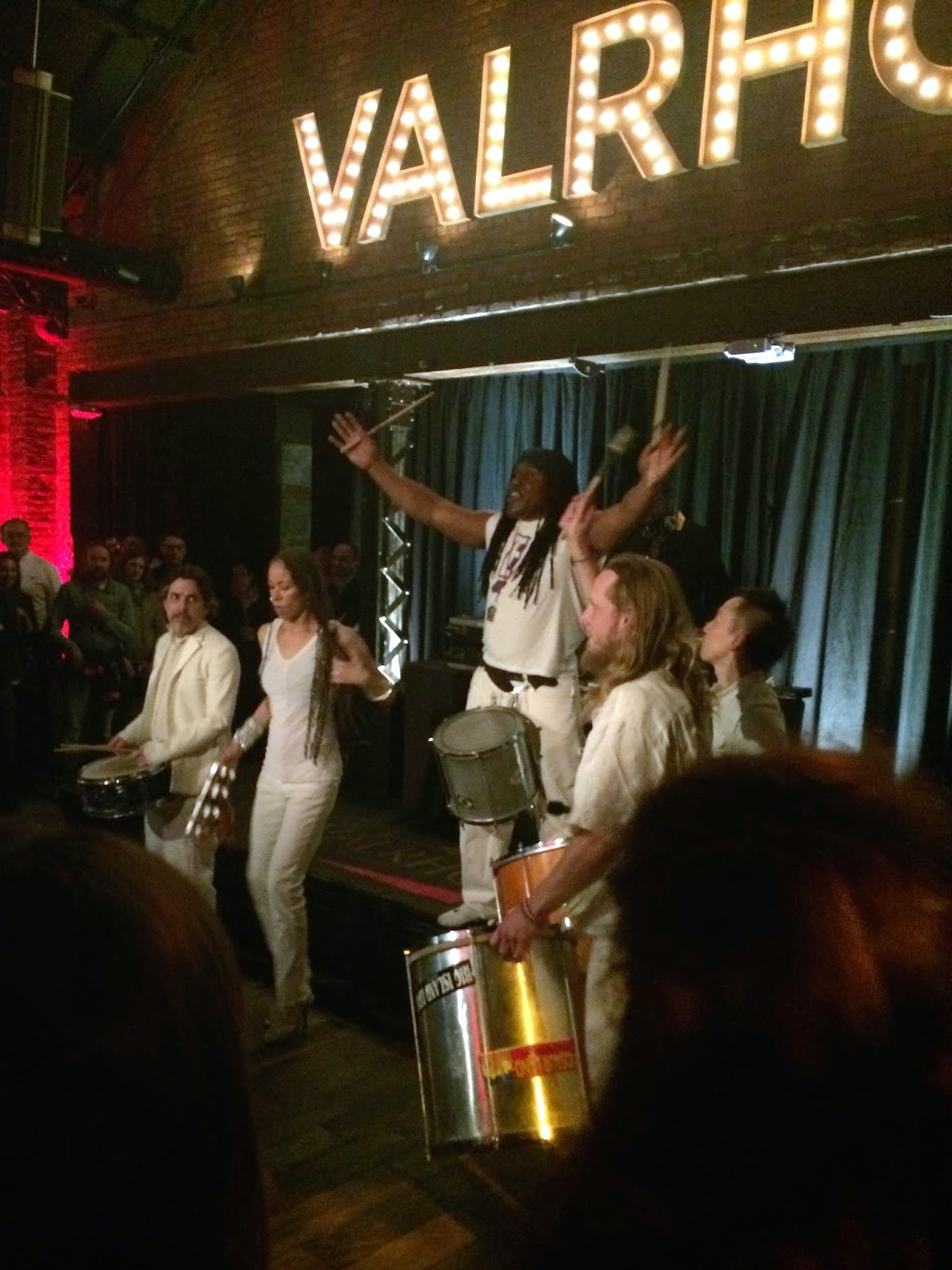 reggae band at Valrhona party