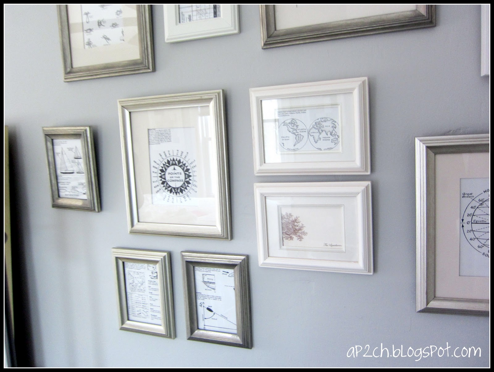A place 2 call home: Completed Gallery Wall