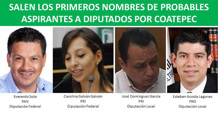 candidatos a diputacion