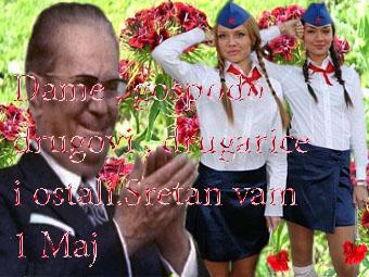 čestitka za prvi maj