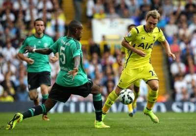 Eriksen talks Tottenham training