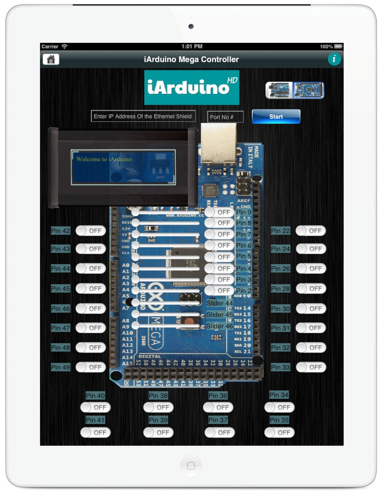 Arduino Analog Value Displayed on Gauge on Web Page