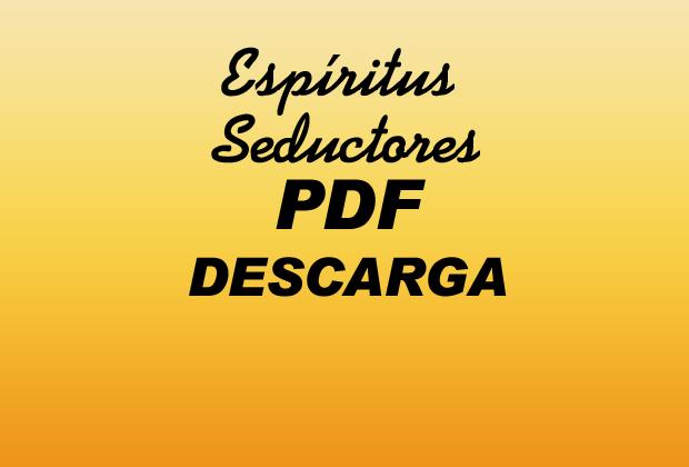 Espíritus Seductores PDF