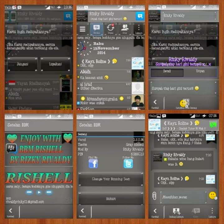 BBM Mod Gray Rishell