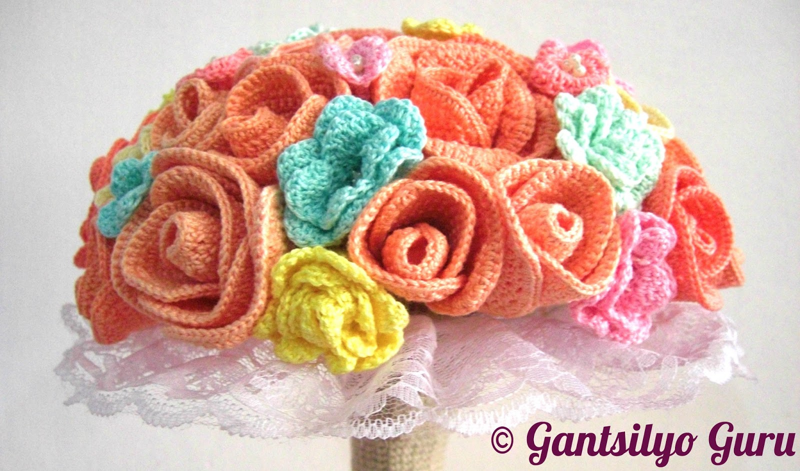 Gantsilyo Guru: Crocheted Bouquet Is Here!!!