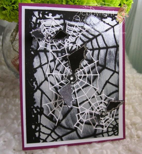 bats web stencil card