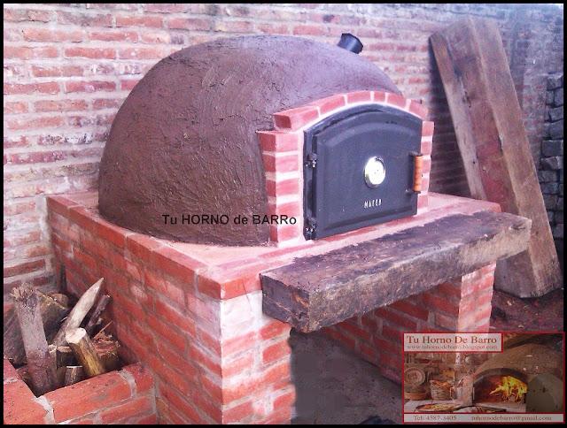 Tu horno de barro hornos de barro argentina buenos aires zona norte sur oeste nuestros - Hornos de barro ...
