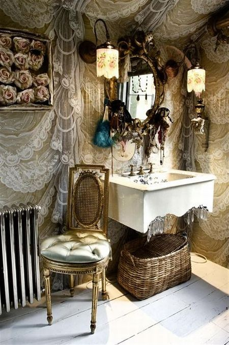 Eye for design decorating gypsy chic style - Boho chic deco ...