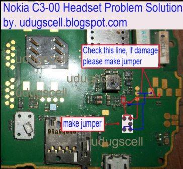 Nokia C3 00 Headset Problem Solution And Trick Jumper Ways