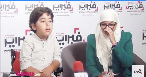 فيديو مؤثر.. أم الشاف عمر..بكيت يوم علمت بمرض ابني لكن بسببه تقربت من الله