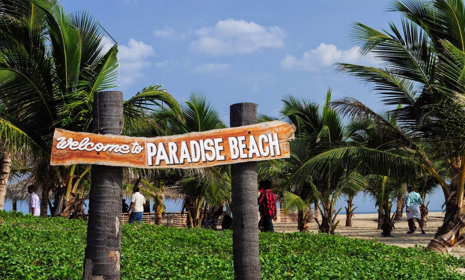 After Lunch Nap At Hotel We Started To Paradise Beach Around 3pm It Is 8km From The Pondicherry Town On Pondy Cuddalore Highway