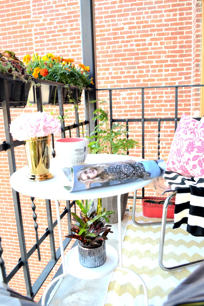 Urban balcony makeover for Balcony makeover
