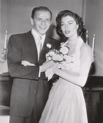 A TRIP DOWN MEMORY LANE: HOLLYWOOD LOVE: FRANK SINATRA AND ...