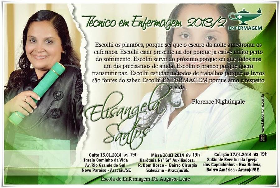 Convite Técnico Em Enfermagem Augusto Leite 2013 2