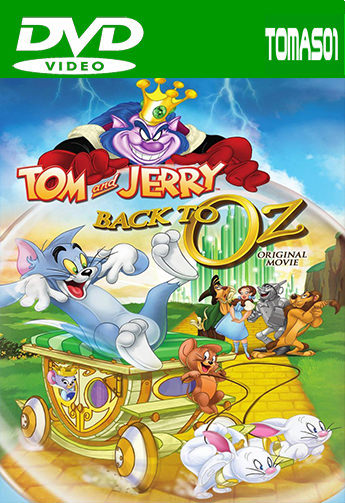 Tom y Jerry: Regreso al mundo de Oz (2016) DVDRip