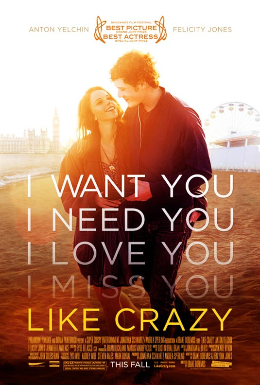 DVDRIP Like Crazy DVDRiP | [TRUEFRENCH] like-crazy-poster.jp