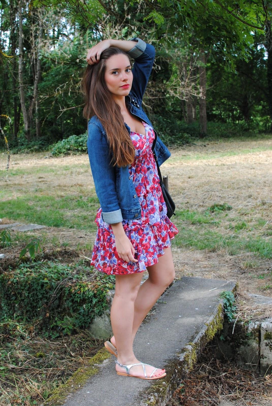 robe d'été naf naf