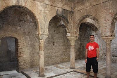 Bañuelo Arab baths in Granada