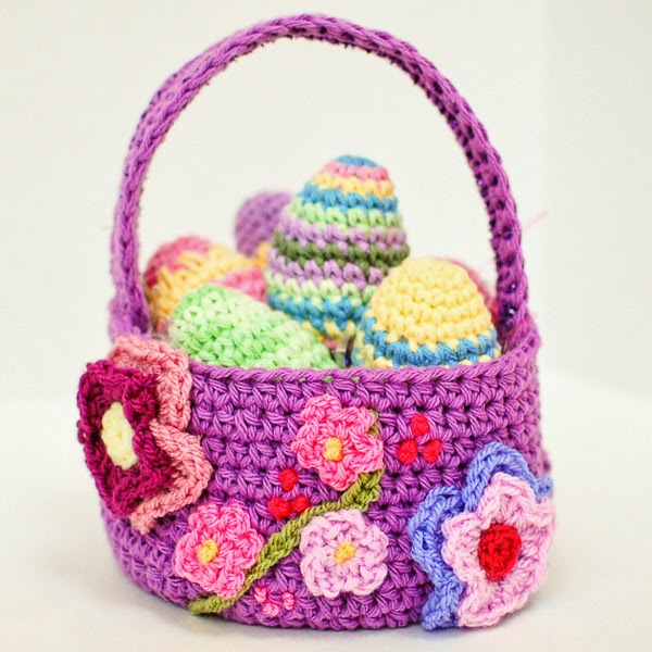 Free Crochet Patterns Free Crochet Patterns Easter Baskets