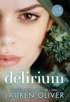 Delirium by Lauren Oliver new cover