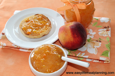 Apricot-Peach Pie Jam - A Luscious Freezer Jam - Easy Life Meal & Party Planning