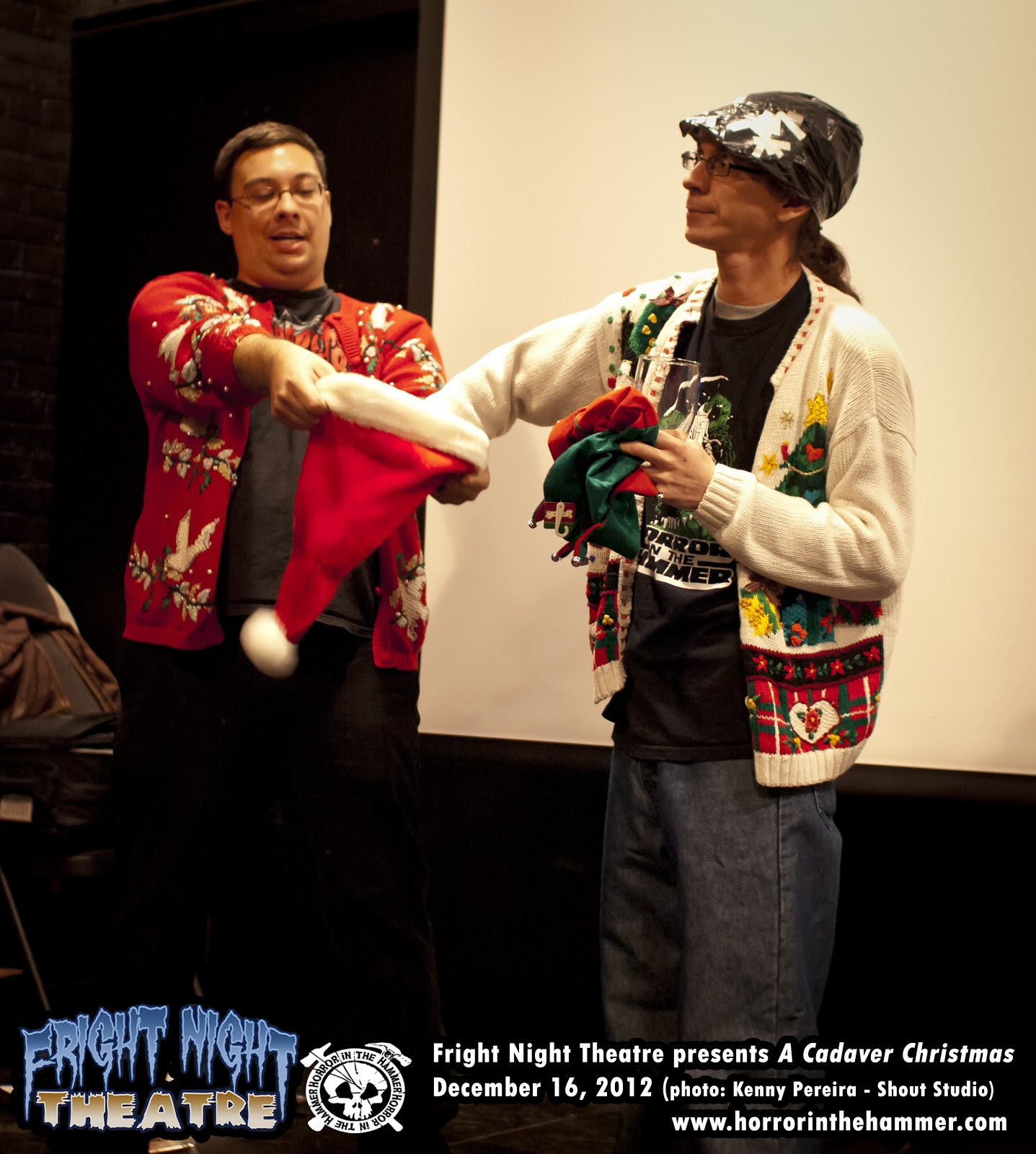 Photos from Fright Night Theatre presents A CADAVER CHRISTMAS
