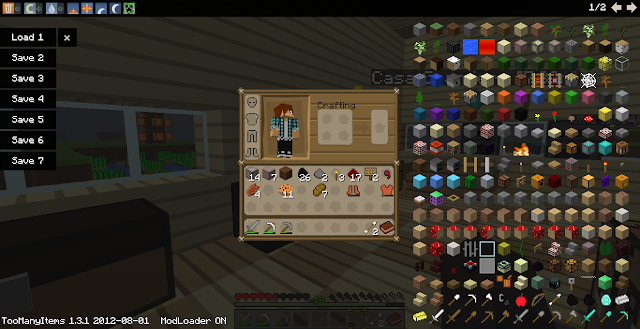 how to get too many items mod