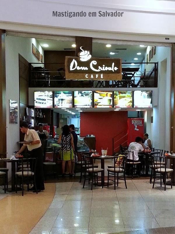 Dom Crioulo Café: Fachada