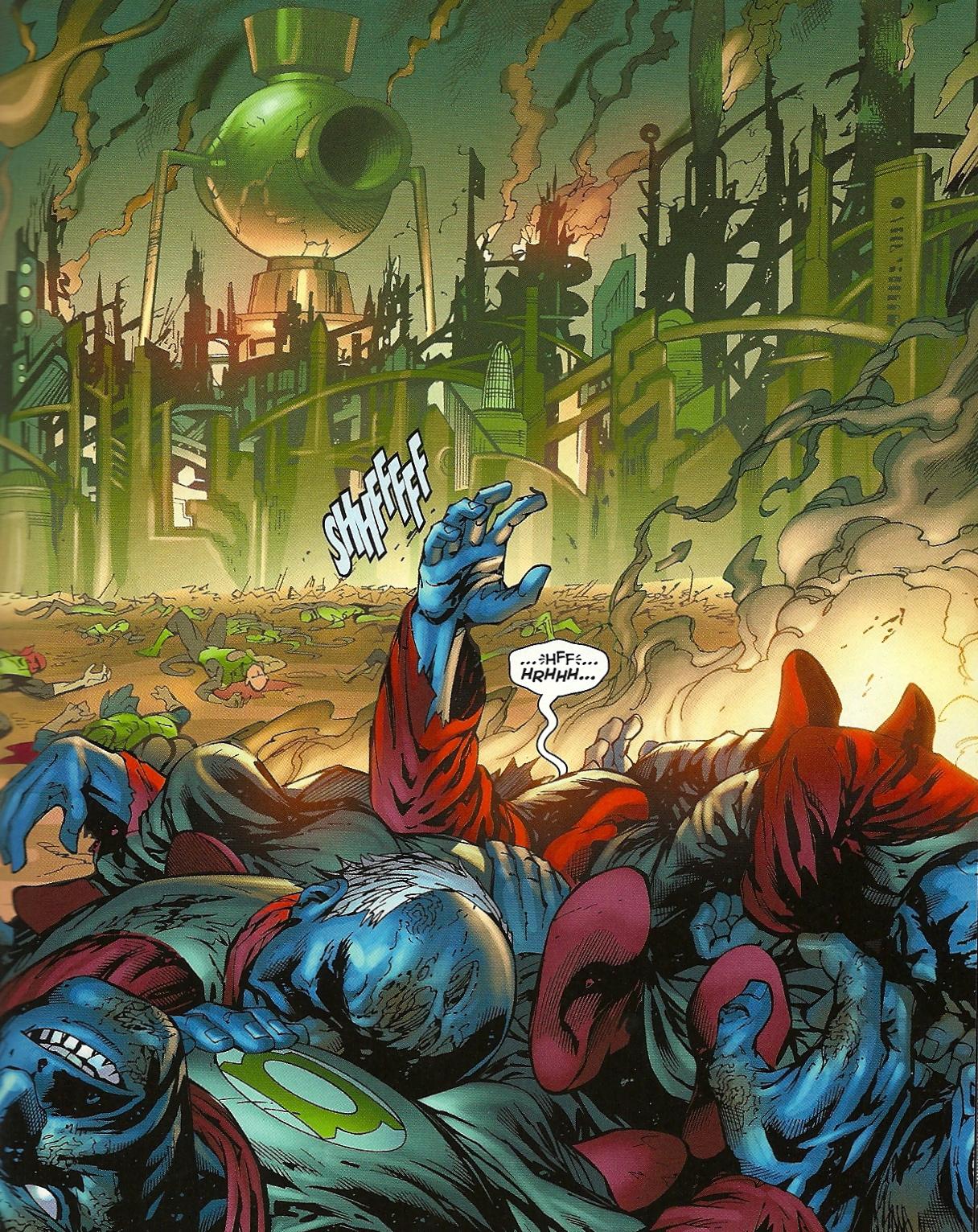 [APOKOLIPS, NOW!] Vers l'Infini... et Oa ! [Mission JL] Corpse+pile