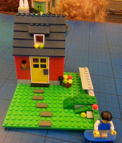 31009 LEGO 3in1 set build skaters cottage