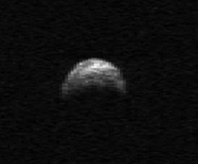 asteroid 2005 yu55: how big is huge asteroid?