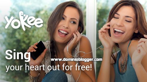 Graba tus propios Karaokes con Yokee en tu telefono movil