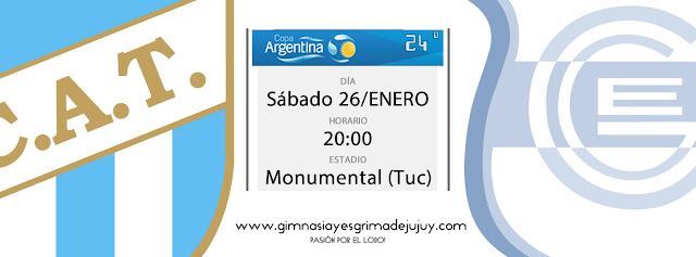 24º Etapa Copa Argentina: Atlético Tucumán vs. Gimnasia de Jujuy