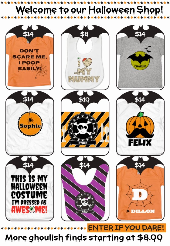 Psychobaby Halloween Gifts for $8 & Up