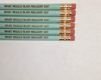 crayons papier blair waldorf gossip girl