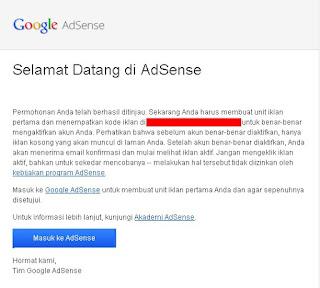 Contoh Email Diterima Tahap Review Pertama