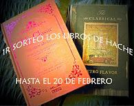 Sorteo Los libros de Hache
