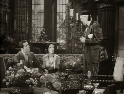 John Boles, Mae Clarke, and Frederick Kerr in Frankenstein (1931)