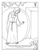 resurrection eggs story coloring pages - photo#26