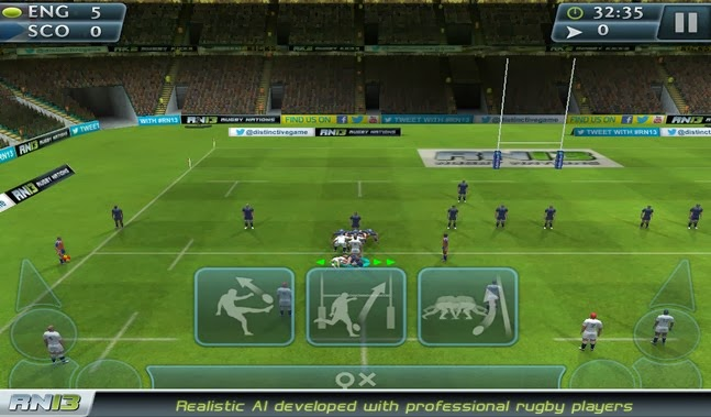 Rugby Nations 13 android apk - Screenshoot