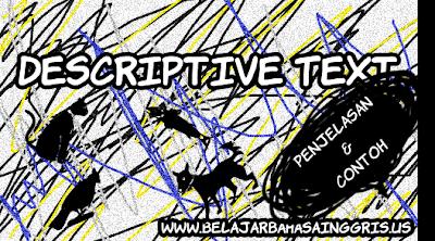 Penjelasan dan Contoh Descriptive Text LENGKAP