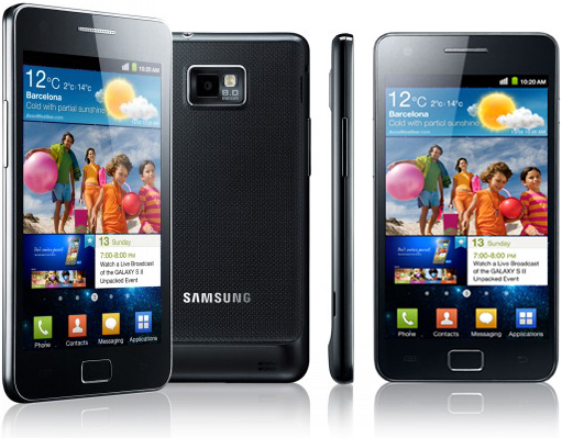 Samsung Galaxy S II Review gallery
