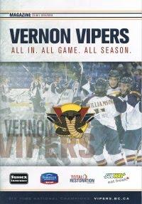 Vernon Vipers 2015-16 Program