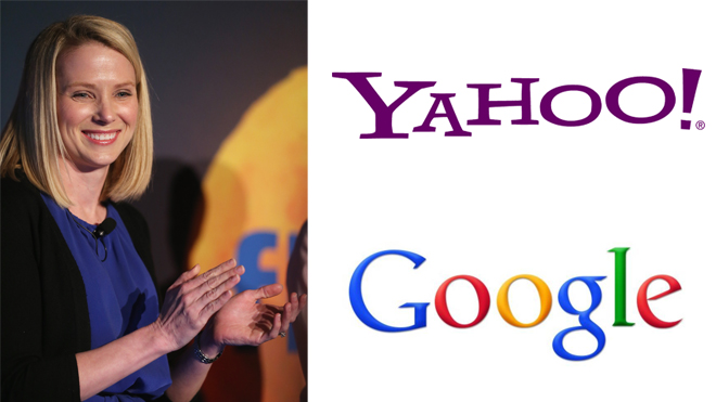 For the first time since 2011, the Yahoo site had more unique visitors in the United States, as rival Google. Success for the new CEO Marissa Mayer, landed there just one year at Yahoo