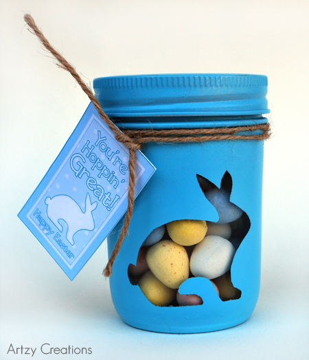 http://artzycreations.com/bunny-mason-gift-jars-with-printables/