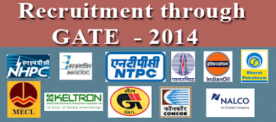 Jobs by GATE 2014 Score | PSU Jobs for GATE Students