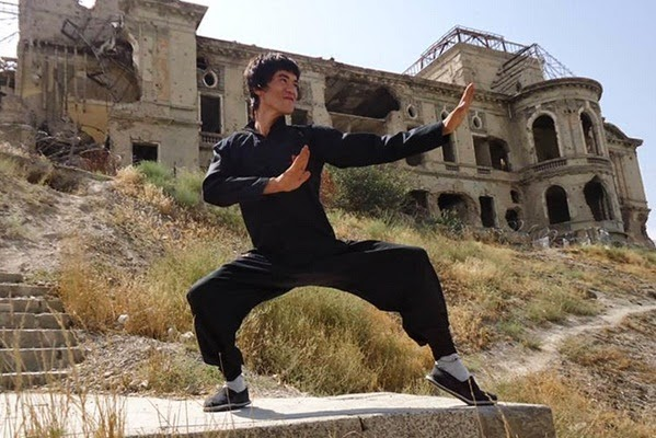 Abbas Alizada as Bruce Lee