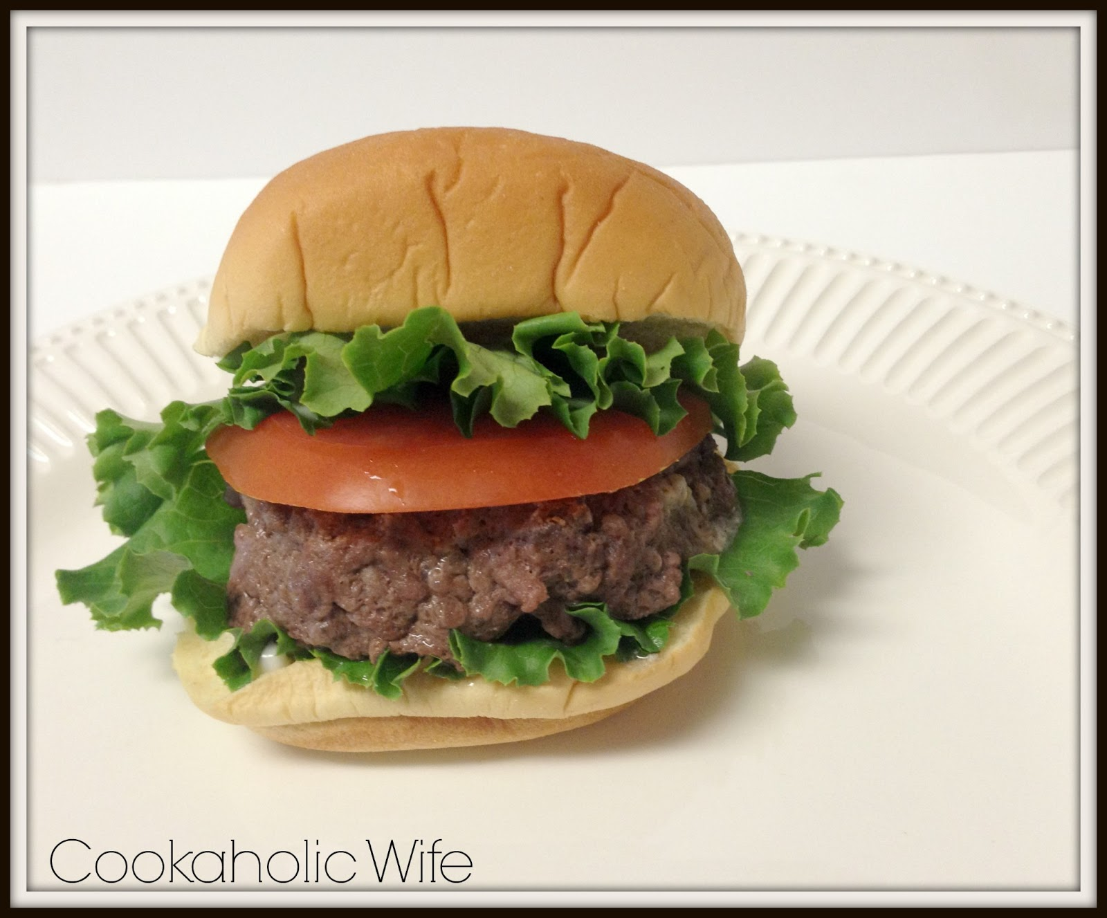Cookaholic Wife: Blue Cheese Stuffed Burgers